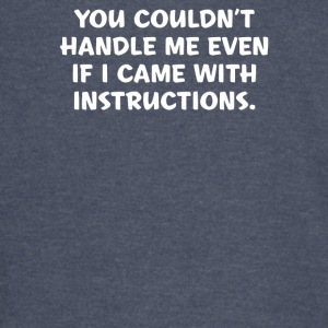 Instructions - Vintage Sport T-Shirt