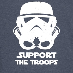 SUPPORT THE TROOPS - Vintage Sport T-Shirt