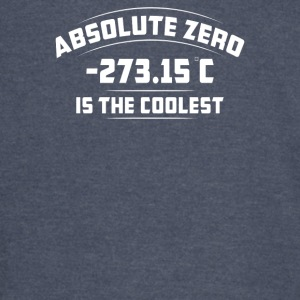 Absolute Zero Is The Coolest - Vintage Sport T-Shirt