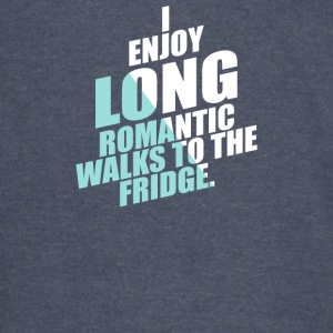 Romantic Walks To The Fridge - Vintage Sport T-Shirt