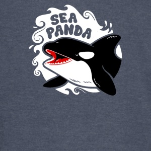 SEA PANDA KILLER WHALE AWESOME FUNNY - Vintage Sport T-Shirt