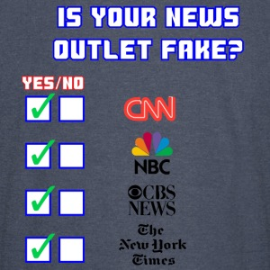 All About Fake News - Vintage Sport T-Shirt