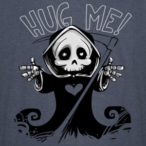 Hug-Me Devil Skull Death Horror Halloween Costume - Vintage Sport T-Shirt