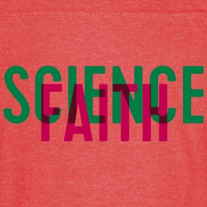 Science or faith? - Vintage Sport T-Shirt