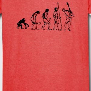 Evolution of a Guitarist - Vintage Sport T-Shirt