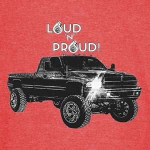 LOUD 'N' PROUD 2nd Gen Cummins Apparel! - Vintage Sport T-Shirt