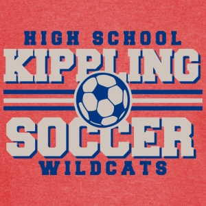 High School Kippling Soccer Wildcats - Vintage Sport T-Shirt