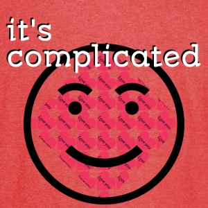 It's Complicated - Vintage Sport T-Shirt