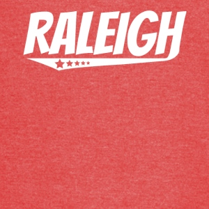Raleigh Retro Comic Book Style Logo - Vintage Sport T-Shirt