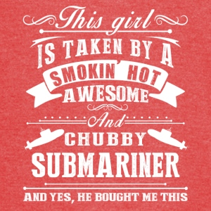 Smokin Hot Awesome Submariner Tee Shirt - Vintage Sport T-Shirt