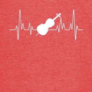 Cello Heartbeat Shirt - Vintage Sport T-Shirt