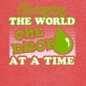 Essential Oils Changing The Word One Drop A Time - Vintage Sport T-Shirt