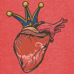 human_heart_with_crown - Vintage Sport T-Shirt