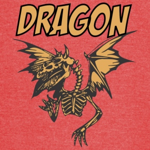 DRAGON_SKELETON_color - Vintage Sport T-Shirt