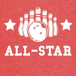 Bowling All Star - Vintage Sport T-Shirt
