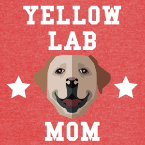 Yellow Lab Mom Dog Owner - Vintage Sport T-Shirt
