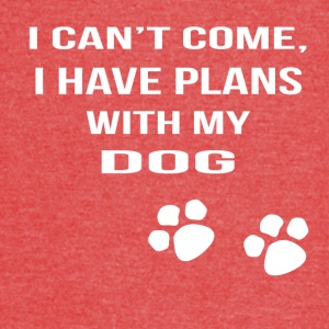 i cant i have plans with my dog - Vintage Sport T-Shirt