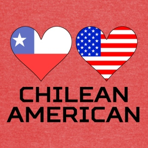 Chilean American Hearts - Vintage Sport T-Shirt