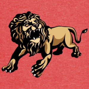 scary_lion - Vintage Sport T-Shirt