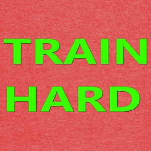 TRAIN HARD GREEN - Vintage Sport T-Shirt