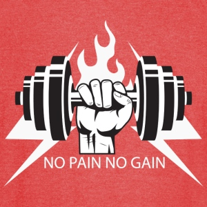 No Pain, No Gain - Vintage Sport T-Shirt