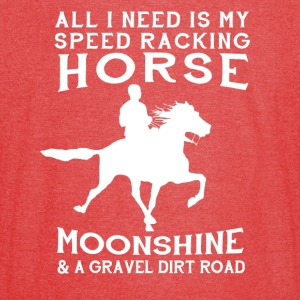 All I Need is my Speed Racking Horse - Vintage Sport T-Shirt