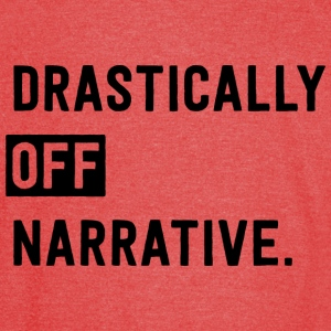 Drastically Off Narrative T Shirt - Vintage Sport T-Shirt