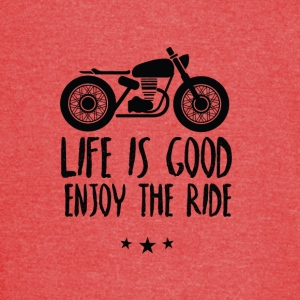 Life is good enjoy the ride - Vintage Sport T-Shirt