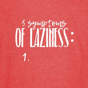 Five symptoms of Laziness - Vintage Sport T-Shirt