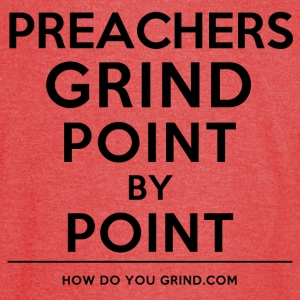This Is How I Grind - Preachers Grind Black - Vintage Sport T-Shirt
