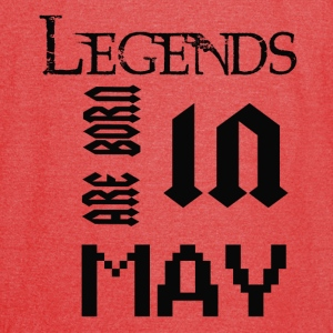 LEGENDS ARE BORN IN MAY - Vintage Sport T-Shirt