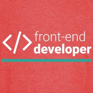 Front End Developer T Shirt - Vintage Sport T-Shirt