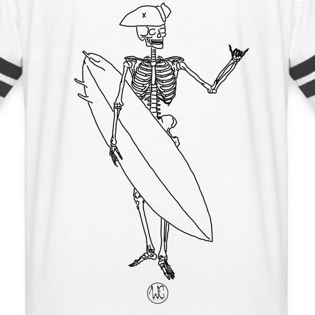 Skelly surfer