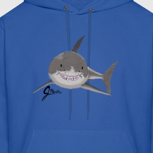 Great White Shark - Swaggy Shark - Men's Hoodie