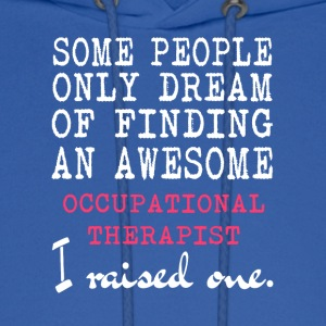 Awesome Occupational Therapist T Shirt - Men's Hoodie
