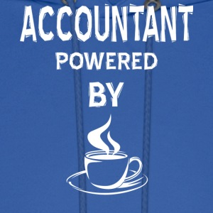 Accountant Powered By Coffee T Shirt - Men's Hoodie
