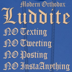 Modern Orthodox Luddite A1 T Shirt - Men's Hoodie