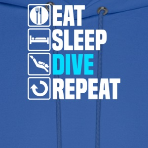 Eat Sleep Dive - Men's Hoodie