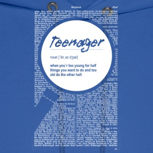 Teen fun definition - Men's Hoodie