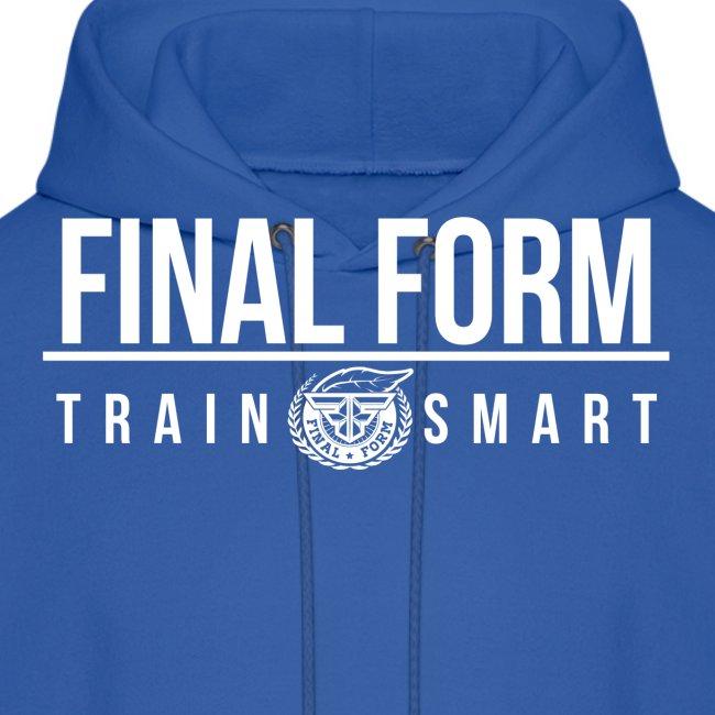final form logo train smart white png