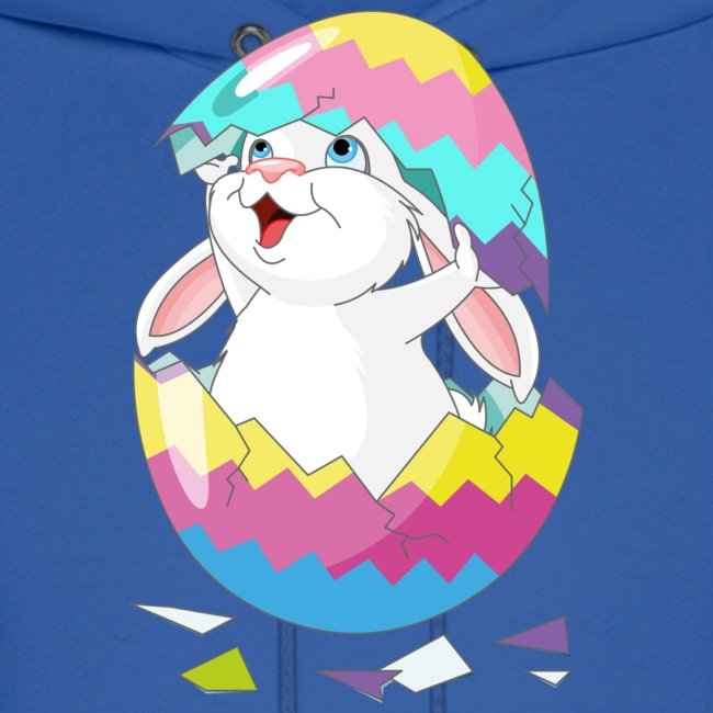 Easter Bunny in Egg, Easter egg hatches bunny