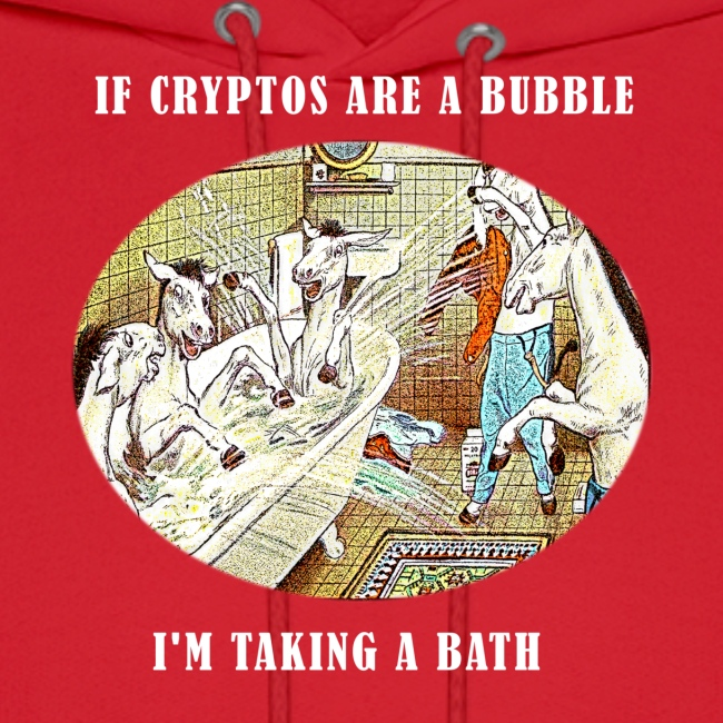 If Cryptos Are a Bubble, I'm Taking a Bath