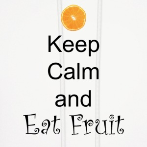 Keep-Calm-and-Eat-Fruit - Men's Hoodie
