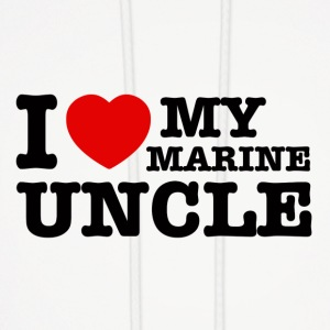 marine uncle design - Men's Hoodie