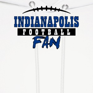 Indianapolis football fan - Men's Hoodie