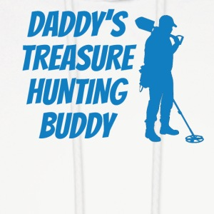 Daddy's Treasure Hunting Buddy - Men's Hoodie