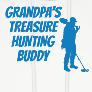 Grandpa's Treasure Hunting Buddy - Men's Hoodie