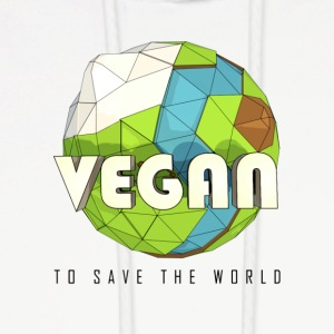Vegan To Save the World - Men's Hoodie