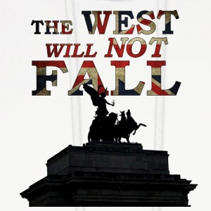The West Will Not Fall! - Men's Hoodie