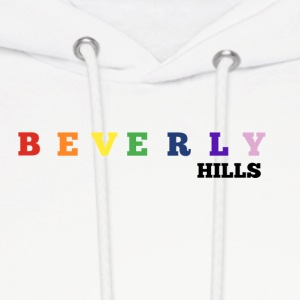 BEVERLY HILLS RAINBOW - Men's Hoodie